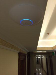 Lausos Palace Hotel Access Point Kurulum projesi