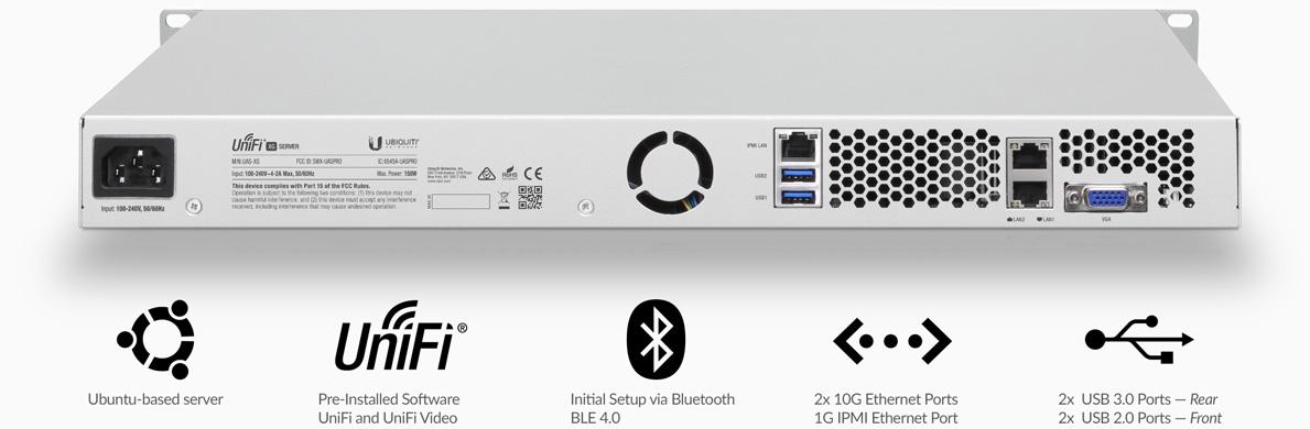 Unifi Server XG gelişmiş özellikler